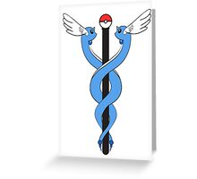 Pokemon Caduceus Greeting Card