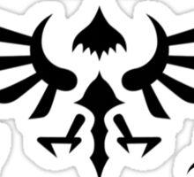 Hylian Symbols - Black Sticker