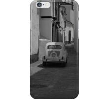 Old-school black and white iPhone Case/Skin