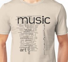 MUSIC is ART Unisex T-Shirt