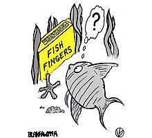 Fish Fingers ? Photographic Print