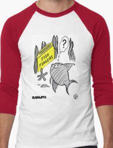 Fish Fingers ? Men's Baseball ¾ T-Shirt