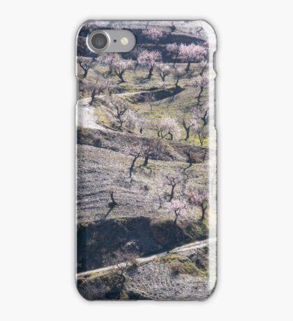 Almond Farm, Las Alpujarras , Spain iPhone Case/Skin