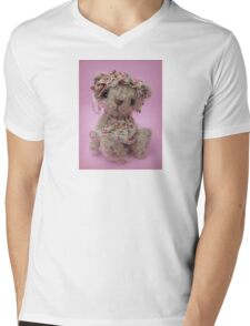 Debra - Handmade bears from Teddy Bear Orphans Mens V-Neck T-Shirt