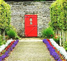 Keyhole View in the Vandeleur Garden, Kilrush. by Brian220