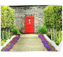 Keyhole View in the Vandeleur Garden, Kilrush. Poster