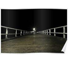 Urangan Pier, Hervey Bay Poster