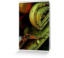 Mandelbulb Greeting Card