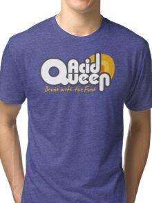 Acidqueen Funky band t-shirt Tri-blend T-Shirt