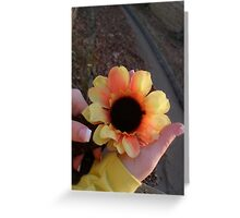 Sonya's Sunflower Greeting Card