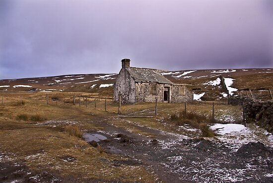Dales Ruin by Trevor Kersley