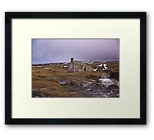 Dales Ruin Framed Print