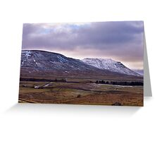Whernside Fell Greeting Card