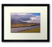 Road to the Dales Framed Print