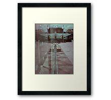 pinhole reflection Framed Print