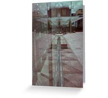 pinhole reflection Greeting Card