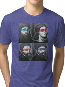 NINJA TURTLES RENAISSANCE Tri-blend T-Shirt