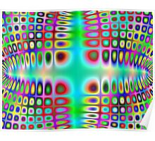 Warped Technicolour Poster