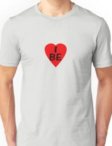 I Love Belgium - Country Code BE T-Shirt & Sticker Unisex T-Shirt