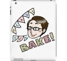 Sue Says Bake! iPad Case/Skin