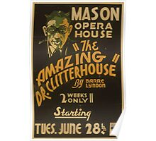 WPA United States Government Work Project Administration Poster 0789 Mason Opera House The Amazin Poster