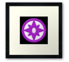 Star Sapphires - LOVE!  Framed Print