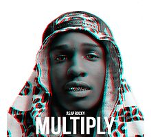 A$AP ROCKY | 2015 | MULTIPLY Photographic Print