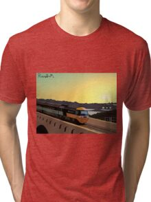 Across the Border Tri-blend T-Shirt