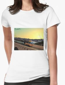 Across the Border Womens Fitted T-Shirt