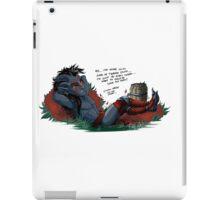 Fetch quests - Misadventures iPad Case/Skin