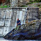 The Lone Fisherman by Clive