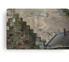 crow steps  Canvas Print