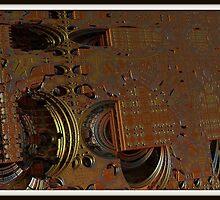 Circuit Board by Vanessa Barklay