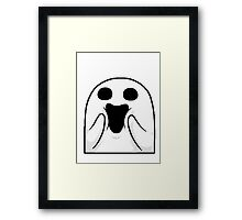 Happy Ghost ! Framed Print