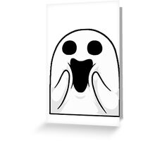 Happy Ghost ! Greeting Card