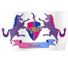 Biromantic Crest Poster