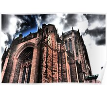 HDR Liverpool Cathedral Poster