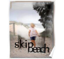 Skip Beach © Vicki Ferrari Photography Poster