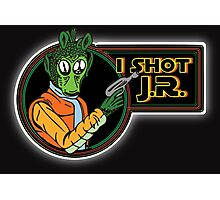 Star Wars - Greedo - I Shot J.R. Photographic Print