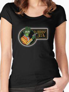 Star Wars - Greedo - I Shot J.R. Women's Fitted Scoop T-Shirt