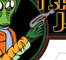 Star Wars - Greedo - I Shot J.R. Sticker