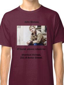 John Watson, lost Classic T-Shirt