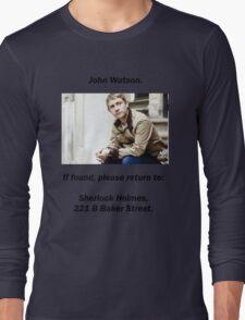 John Watson, lost Long Sleeve T-Shirt
