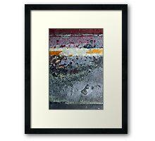 ground layer Framed Print