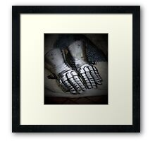 Be loyal of hands and mouth Framed Print