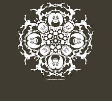 ORANGUTAN SNOWFLAKE GREEN Unisex T-Shirt