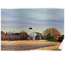 Barn Structure, Deep Cut Road Poster