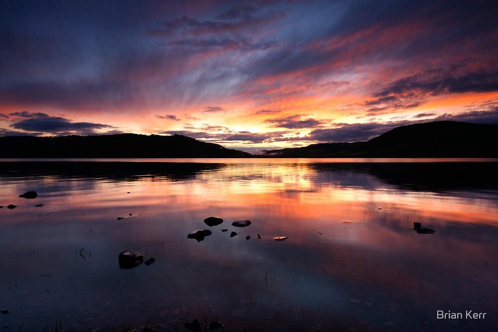 Loch Ness Sunset by Brian Kerr