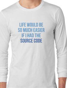 Life Source Code Long Sleeve T-Shirt