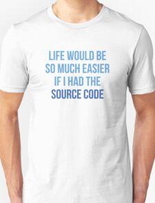 Life Source Code T-Shirt